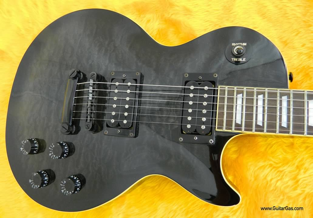 2001 Limited Edition Epiphone Les Paul with Trans-Black Quilt Top