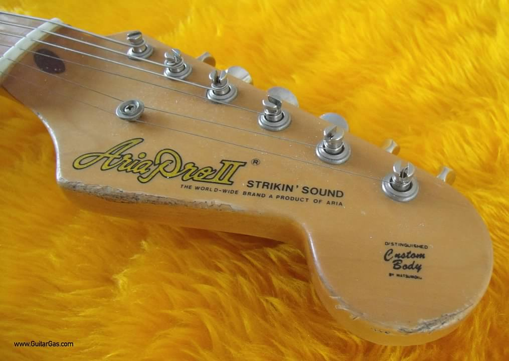 Aria Pro II Strikin Sounds 50s Stratocaster Copy Relic