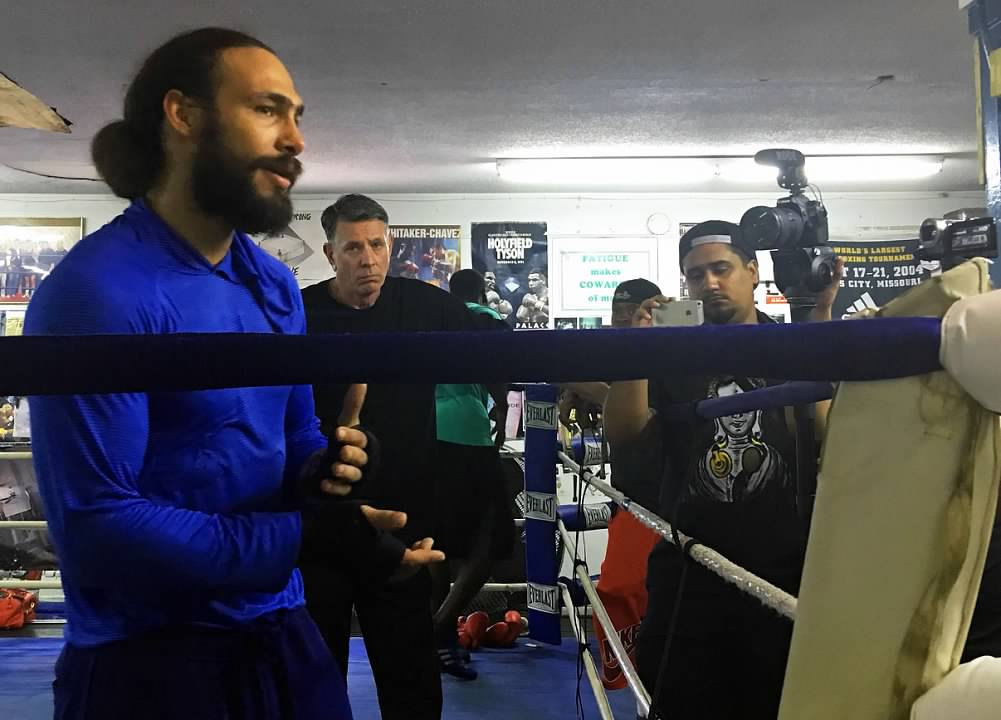 Keith Thurman workout