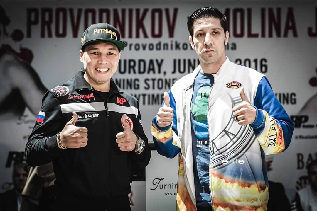 Ruslan Provodikov and John Molina, Jr.