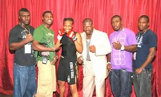 Edson, Cleveland, Nana, Dieuseul and Andre Berto