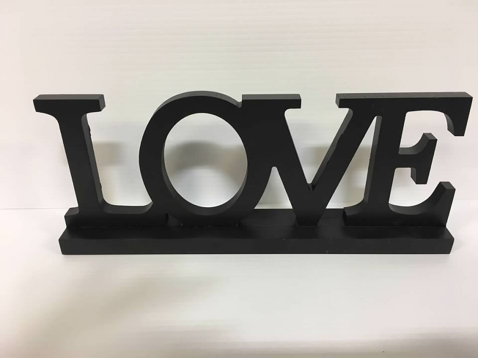 Love Table Top Sign