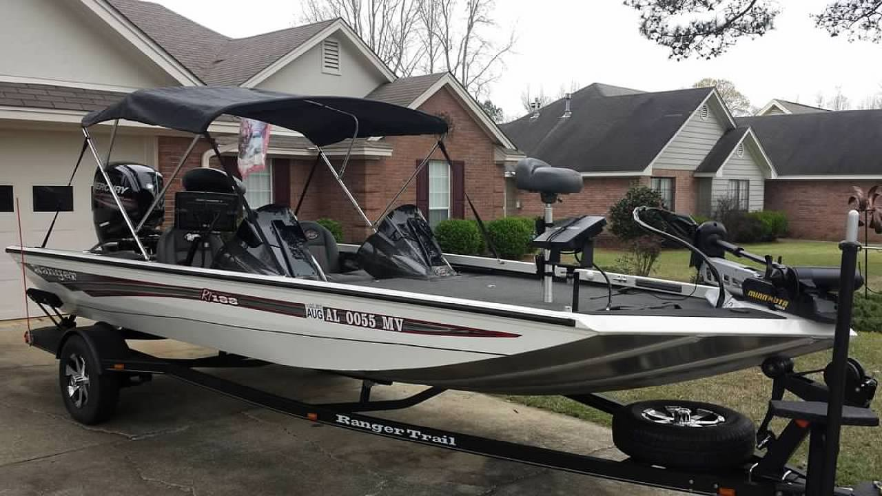 New 2016 Ranger Rt188 Setup Lots Of Pictures Boat Dash Wiring Diagram Bimini Top Added