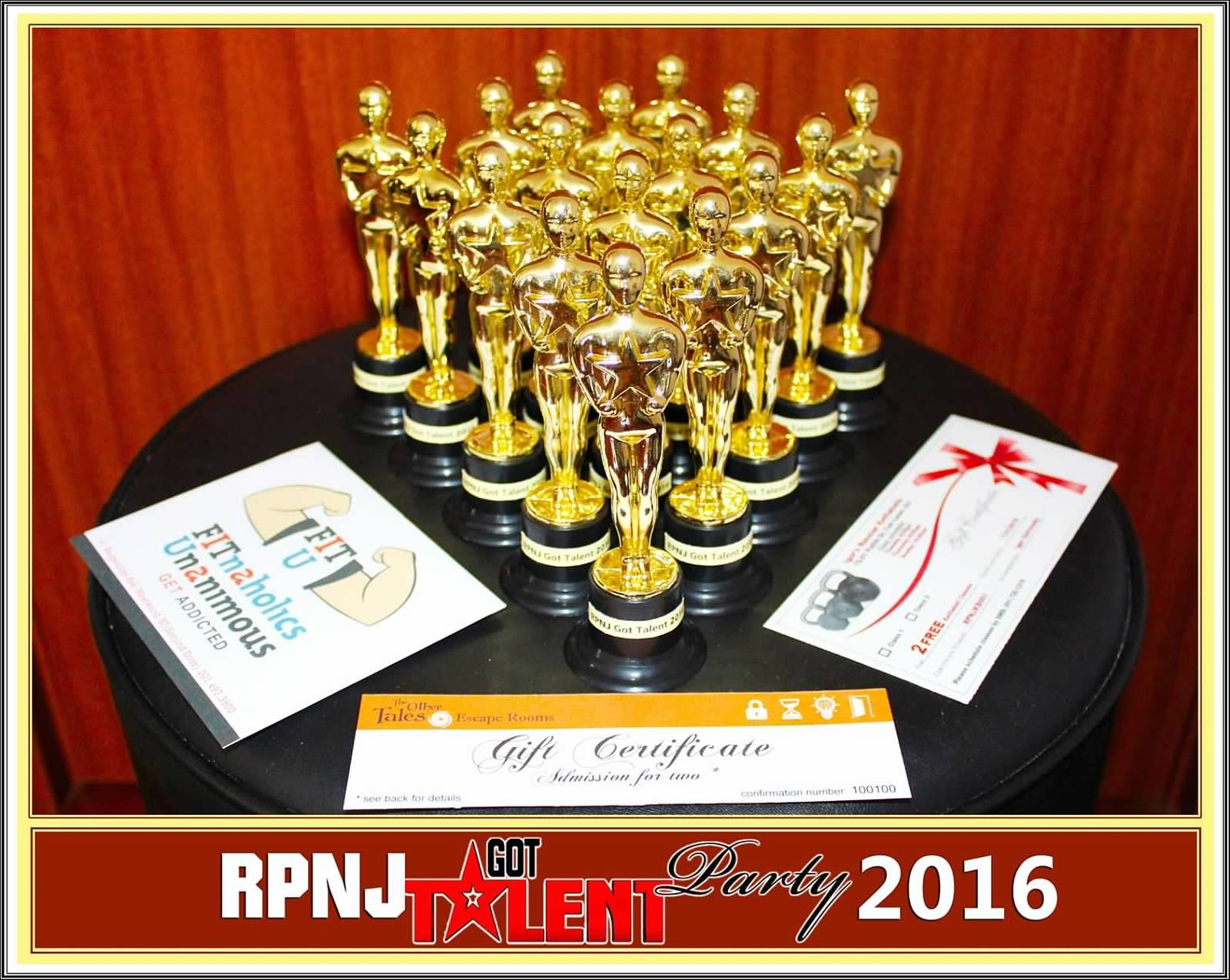 RPNJ Got Talent Party 2016