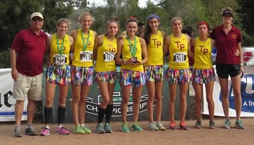 2016 Torrey Pines High School Cross Country Girls team